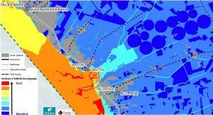 projet contournement carte d'indice écologique NOrd Bassin