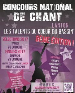 talent coeur du bassin 2017