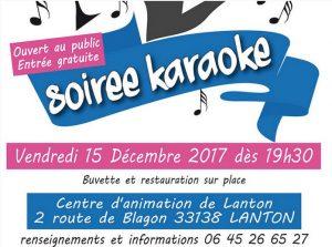 lanton soiree karaoke