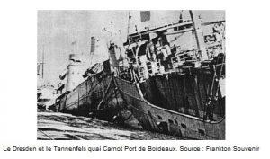 operation frankton bateaux coulés