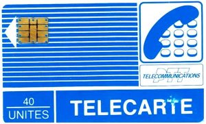 telecarte bleue verges