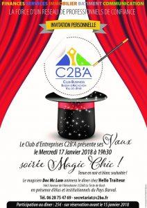 C2BA soiree magic 17 01 18