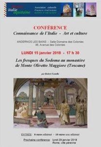 andernos conference italie