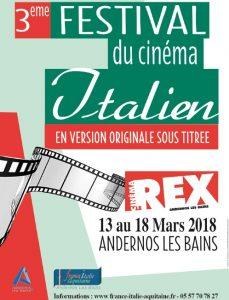 affiche festival italien 2018
