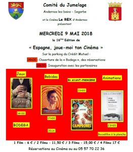 festival cine espagnol 2018