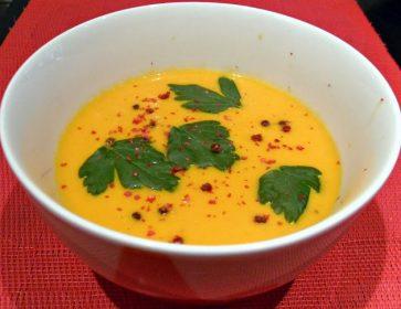 potage carotte coco lyselotte