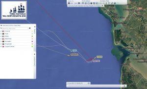 BFV tall ship regatta arrivee arawak