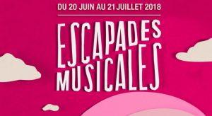 escapades musiclaes 2018