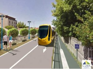 projet contournement C2BA tram