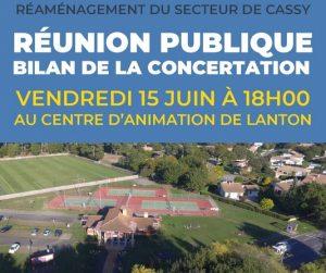 reunion publique lanton