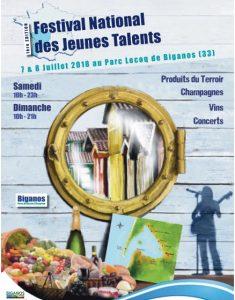 festival Jeunes talents castillo 2018 biganos