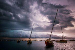 orage bateaux cv