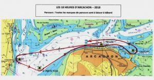 parcours 18h Arcachon 2018