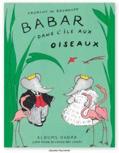 babar ile aux oiseaux couv livre