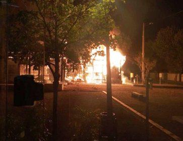 lanton incendie club petanque en flamme
