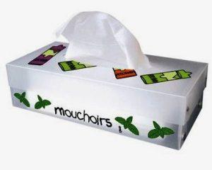 oncle francois petits mouchoirs en papier