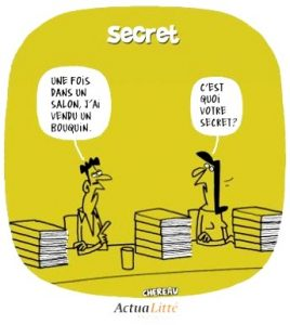 secret salon dedicace livre