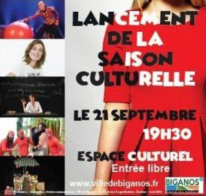 lancement saison culturelle biganos 2018