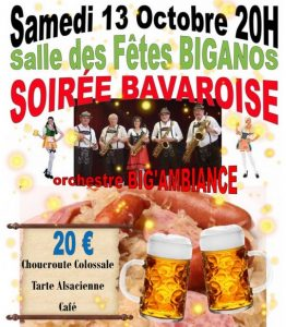soiree bavaroise biganos