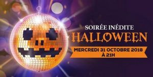 soiree halloween casino 2018