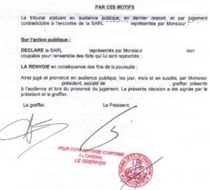 SOS PV jugement gagnant denonciation part 4
