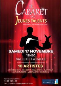 cabaret jeunes talents lege