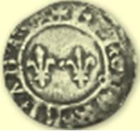 SHAA monnaie double denier tournois 3