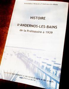 livre histoire d andernos