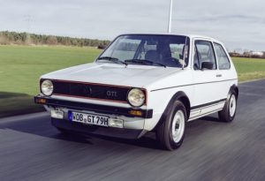 Golf GTI verges route
