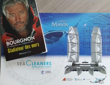 bourgnon flyer sea cleaner et livre
