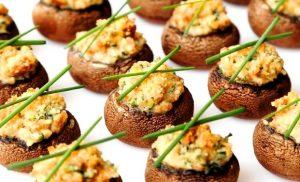 champignons paris farcis lyselotte