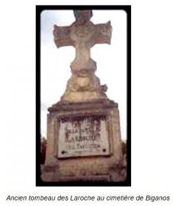 Facture ancien tombeau des Laroche au cimetiere de Biganos SHAAPB