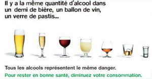 SOS PV quantité alcool