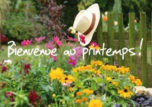 bienvenue au printemps