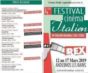 festival FIA film italien 2019