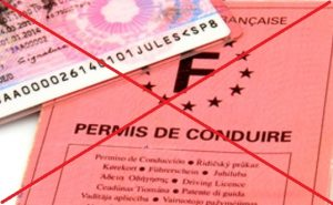 sos pv permis de conduire barre