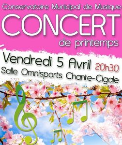 concert de printemps gujan