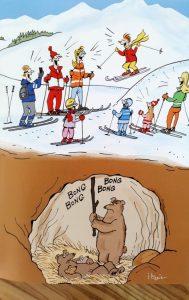 itturia ours skieurs