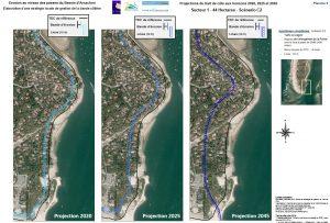 erosion rapport PDFDLM comparatif sans ouvrages cap ferret