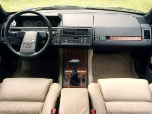 SLR verges XM 89 interieur