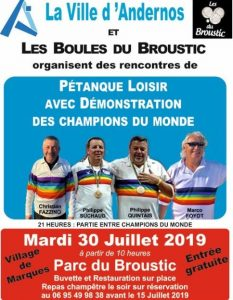 boules broustic