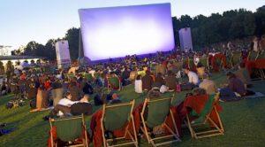 cine plein air salles