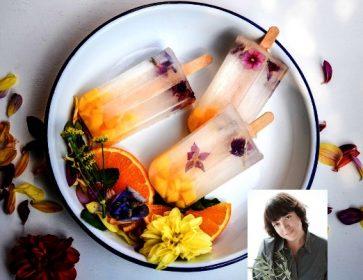 vad glace aux fleurs stephanie portrait