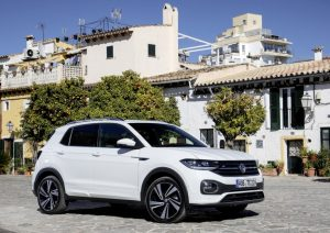 verges VW T-cross face