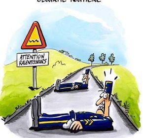 verges ralentisseurs gendarpmes couches