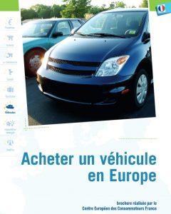 acheter un vehicule en Europe
