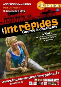 affiche 2019 course intrepides
