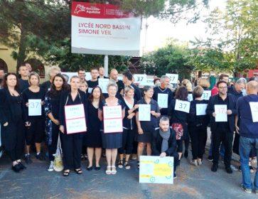 greve lycee 37 prof debouts