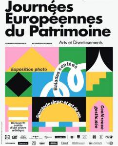 journee du patrimone affiche 2019