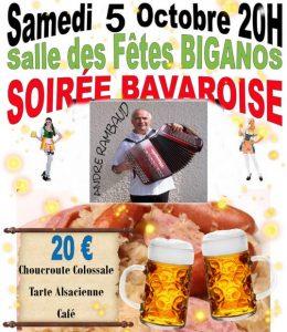 soiree bavaroise biganos 5 10 19